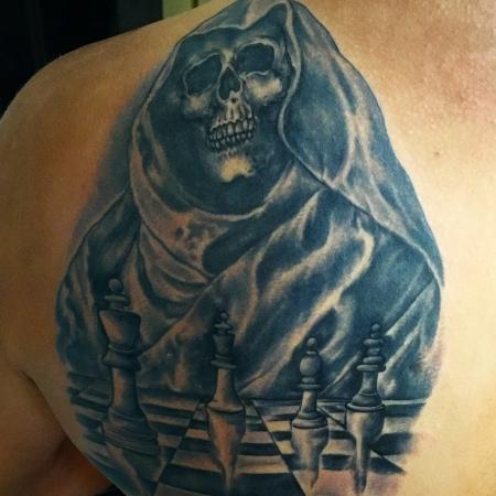 Schulter mein   Drittes Tattoo