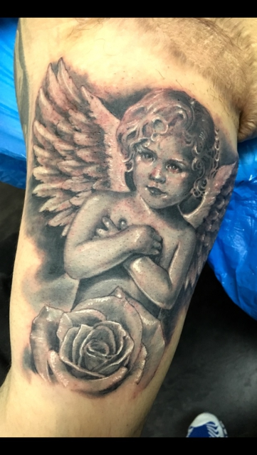 angel-Tattoo: Angel