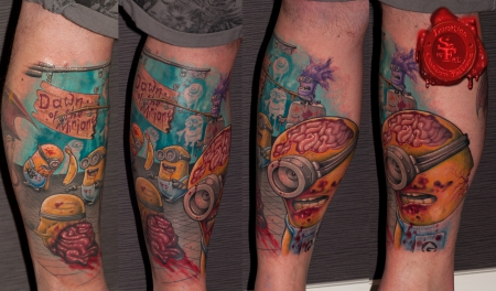 Lunatics Custom Tattoos by SoFat