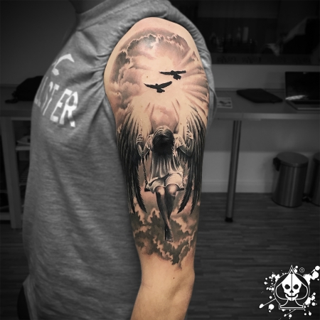 angel-Tattoo: Falled Angel