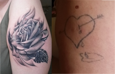 Rose (after + before)