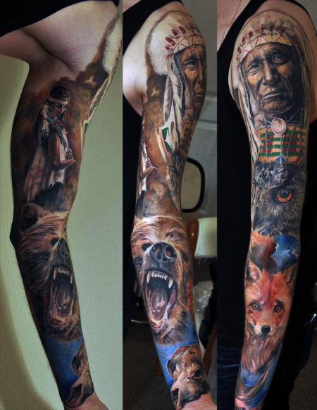 Full sleeve beendet