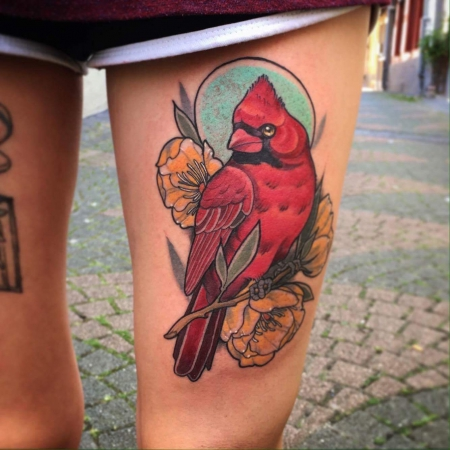 vogel-Tattoo: Vogel