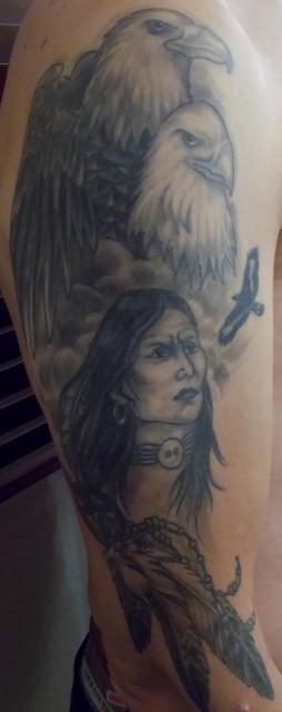 adler-Tattoo: Adler