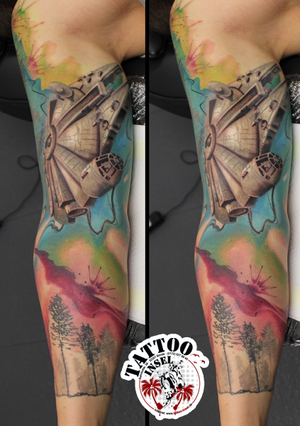 Star Wars Armsleeve by Arthur & Micha
