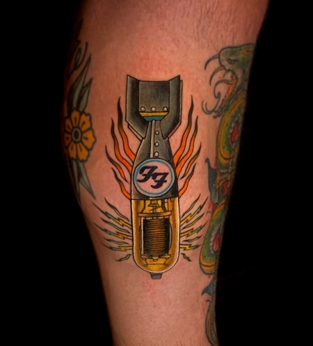 Foo Fighters Amp Tube