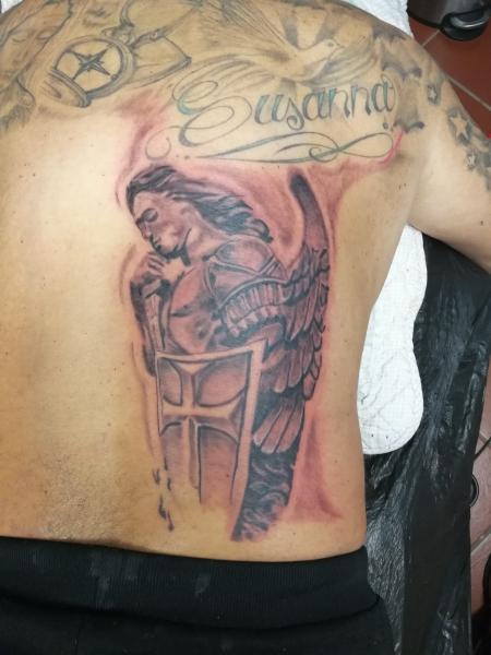 erzengel-Tattoo: 3,5std
