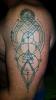 Geometrisches Tattoo esoterisch
