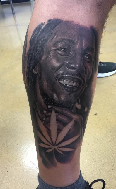 Bob Marley Portrait, done by Constantin Schuldt