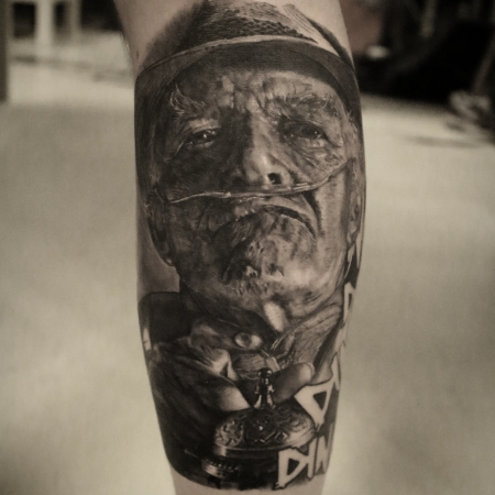 dali-Tattoo: ding ding