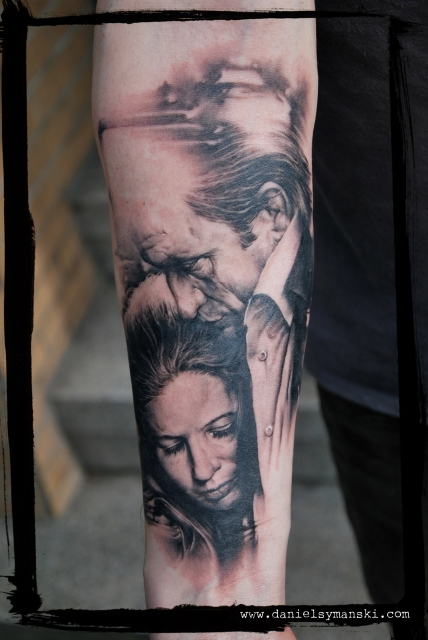 stechwerk wuppertal-Tattoo: Johnny Cash & June Carter