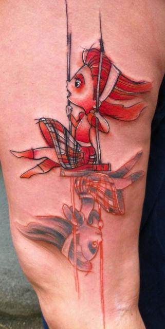chrizzzn  stilbruch tattoo   2 geschichten
