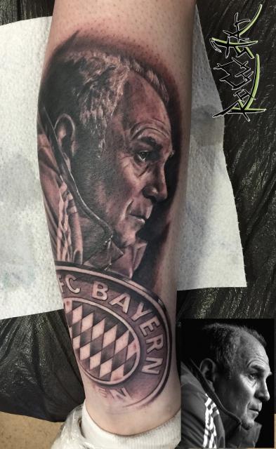 fußball-Tattoo: Uliiiiiii