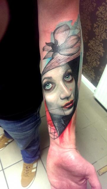 Neues tattoo von Dave Paulo