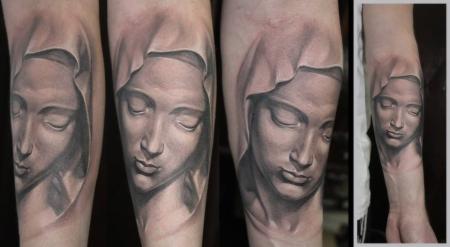 maria-Tattoo: Maria