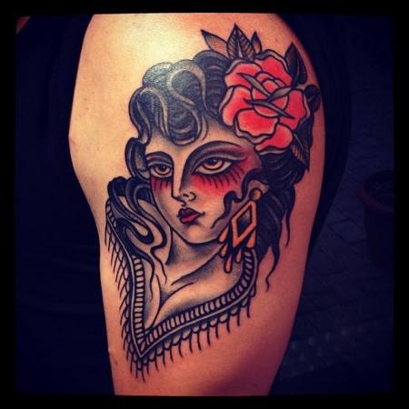 Tattoo by Esther Guest @Black Cat 16 - 21 Februar