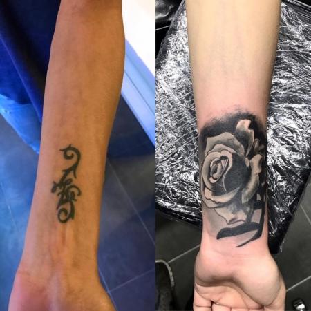 stichfestwuerzburg cover  handgelenk tattoos von