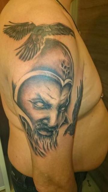 Odin mit Raben