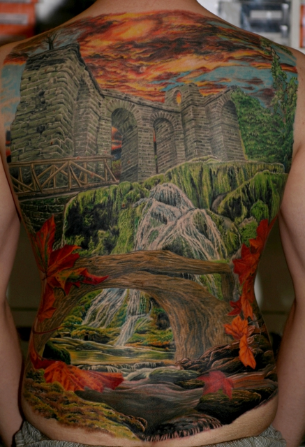 Natur Backpiece