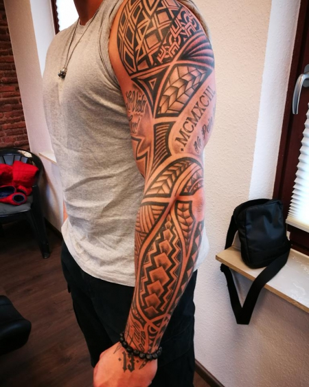 maori-Tattoo: Eigen kreation