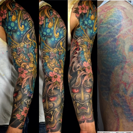 cover-Tattoo: Cover up von einem cover up!