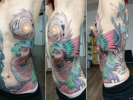 Ho-oh ( Feuervogel / Phoenix)