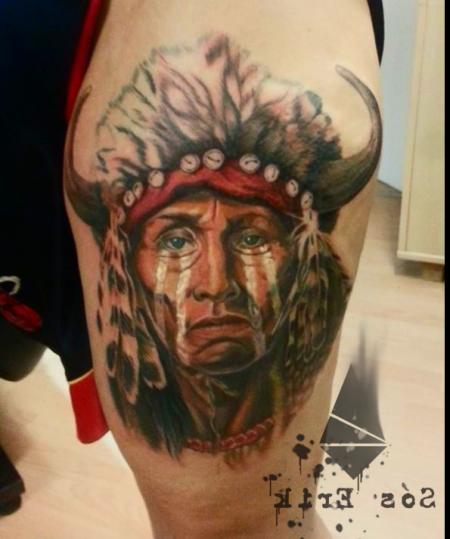 Indianer by Erik