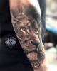 Löwe Tattoo