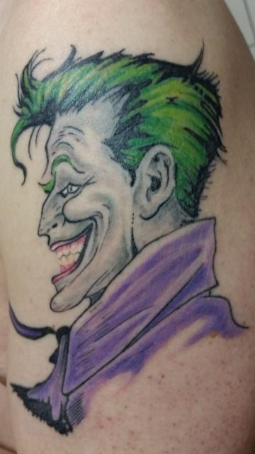 obi wan nikobi der gute alte joker tattoos von tattoo. Black Bedroom Furniture Sets. Home Design Ideas