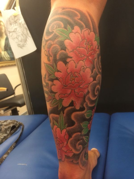 Blumen/Geisha