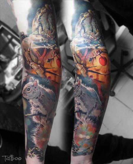 NADELWERK WELS (AUSTRIA) Tattoo by VALENTINA RYABOVA