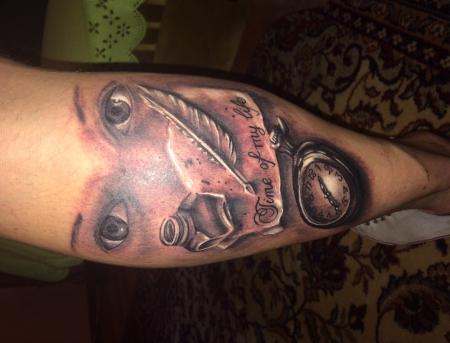 Mit 50. erste tattoo