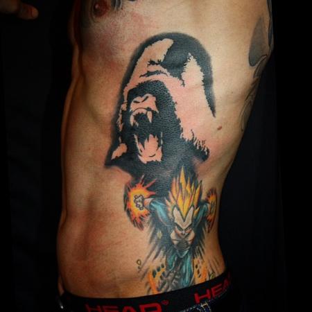 seyhanjin disobey gorilla tattoos von tattoo. Black Bedroom Furniture Sets. Home Design Ideas