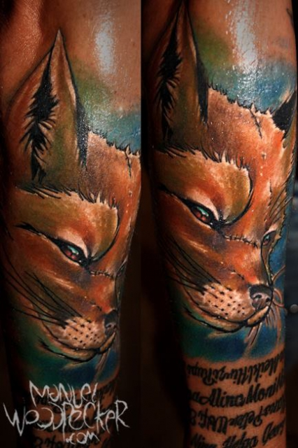familie-Tattoo: Freddy Fuchs