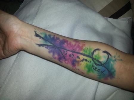 plueschhexe watercolor abstrakt tattoos von tattoo. Black Bedroom Furniture Sets. Home Design Ideas