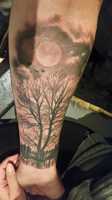 Steffen84 Lebensbaum Tattoos Von Tattoo Bewertung De