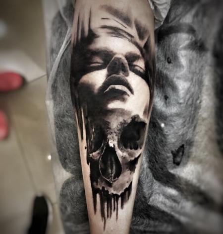 Realism Skull/ Portrait