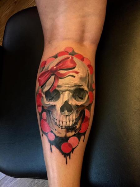 Girl Skull Totenkopf