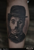 Charlie Chaplin - Godfather's Tattoo Nürnberg - By NASKO
