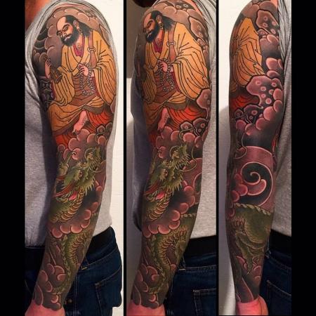 sleeve-Tattoo: Sleeve abgeheilt und vorzeigefähig :)