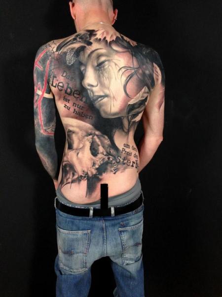 Motive männer rücken für tattoo Tattoo Ideen