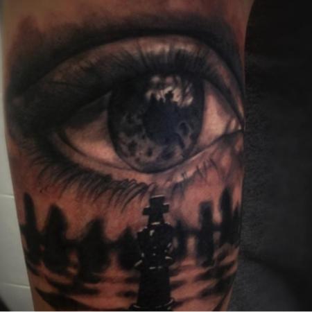 #constantininkdresden #artistconstantinschuldt #eyetattoo #tattoodresden