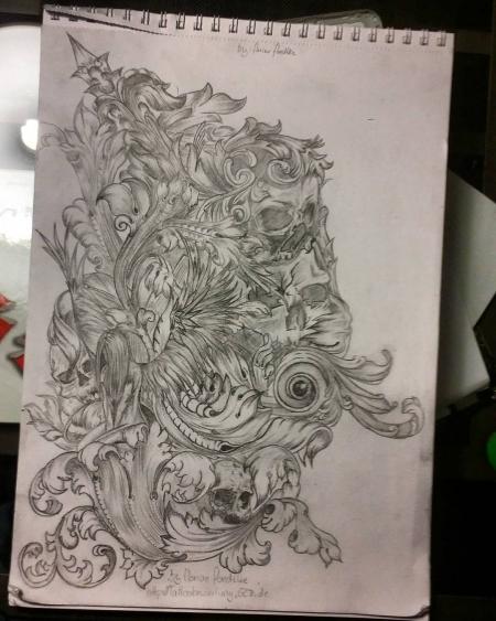 Ich habe mich mal versucht etwas in Barock zu zeichnen. Was meint ihr?