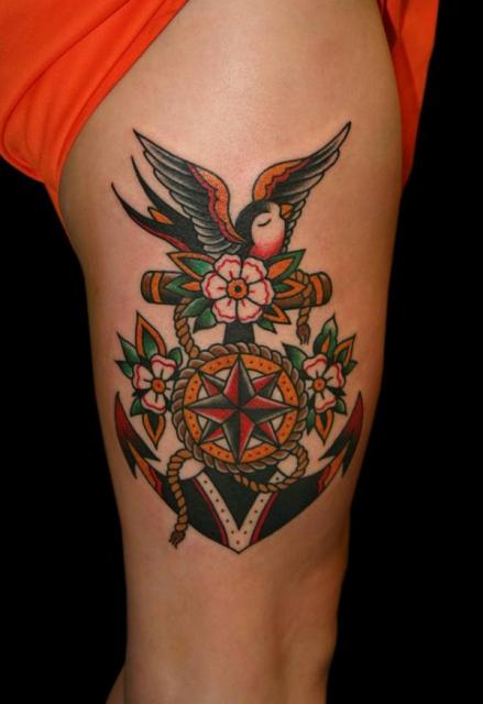 anker-Tattoo: Anker