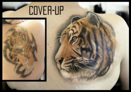 Tiger Cover-up