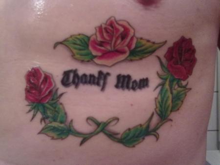 rammstein-Tattoo: für meine Mutter