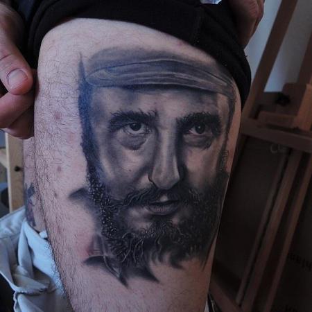 pedro stilbruch tattoo   fidel