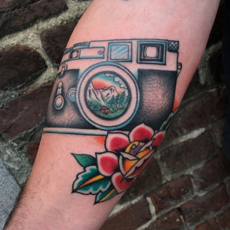 Leica M3 - By Sebastiaan Wilms King of Kings Tattoo, NL