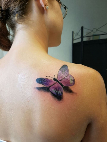 3D Schmetterlin by Ivan vom Lifestyle Bruchsal