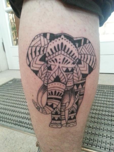 Hier ist mein Elefantus